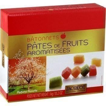Batonnets de pates de fruits aromatisees 1 kg