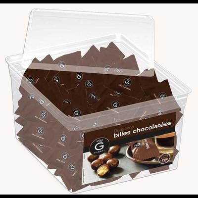 Billes chocolatees duossimo 200 pieces gilbert