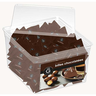 Billes chocolatees duossimo 200 pieces gilbert
