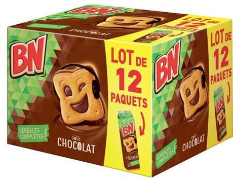 Biscuit bn chocolat vendu par 12 pour professionnels