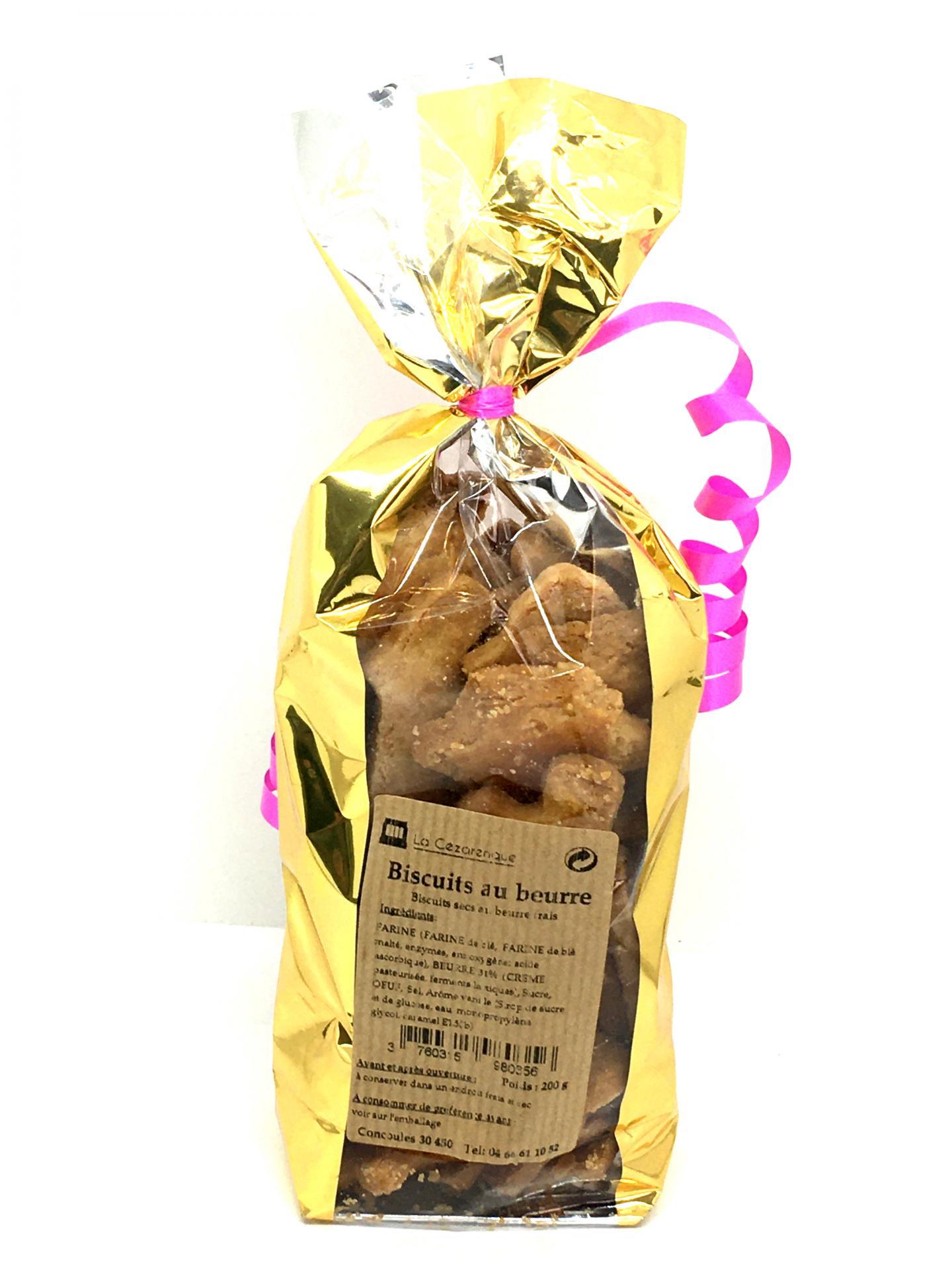 Biscuits beurre 200g esat la cezarenque en cevennes concoules