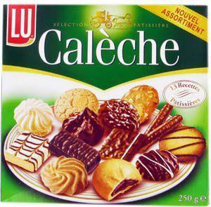 Biscuits caleche assortiment clasique 250 g pour bureau