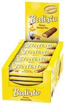 Biscuits miel amandes 20 x 37 g balisto pour bureau