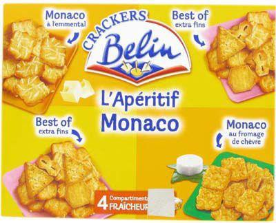 Biscuits sales assortiment monaco 340 g pour bureau