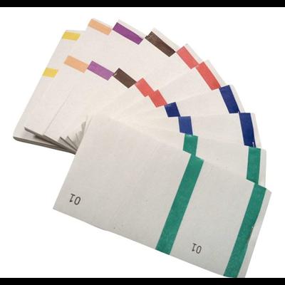 Bloc vendeur coloris assortis x 10