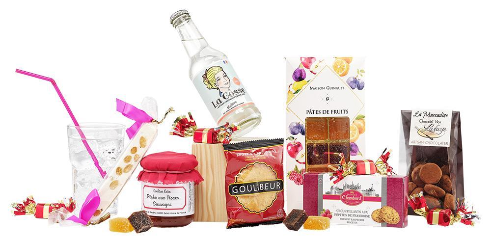 Boite a douceurs panier gourmand sucre de noel ccas maison de retraite