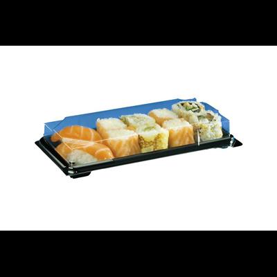Boite a sushi avec couvercle 21 x 10 cm vendu par 25