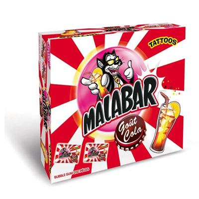 Boite malabar coca 200 pieces