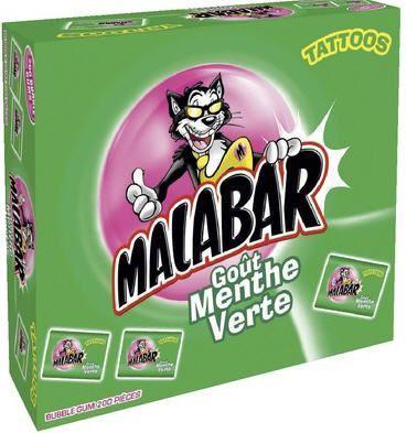 Boite malabar menthe 200 pieces pour professionnels