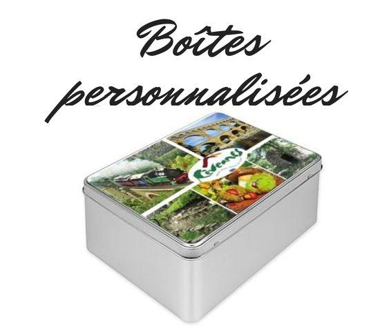 Boites a biscuits personnalisees
