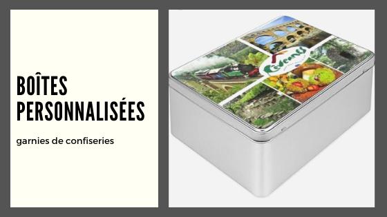Boîtes à confiseries personnalisées