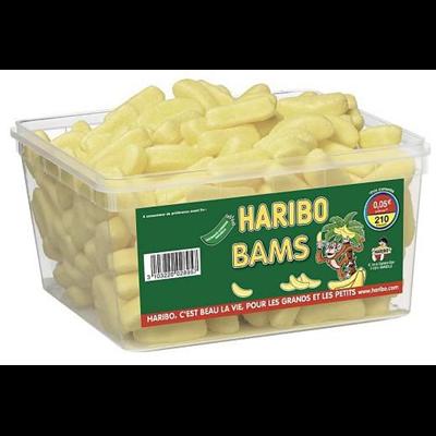 Bonbons bams 210 pieces haribo