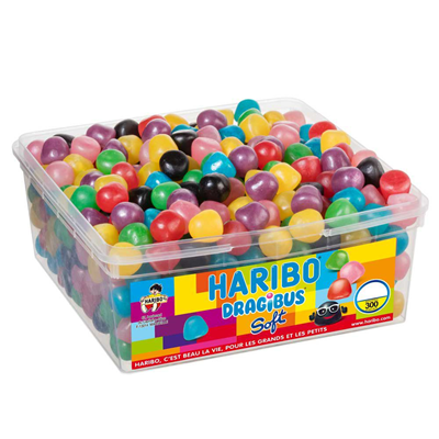 Bonbons dragibus soft 300 pieces haribo