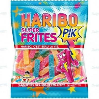 Bonbons frites 40 g le sachet vendu a l unite