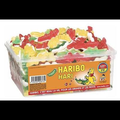 Bonbons haricroco 210 pieces haribo