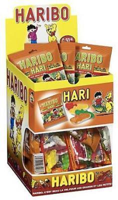 Bonbons haricroco 30 x 40 g fourniture ccas comites d entreprise et professionnels