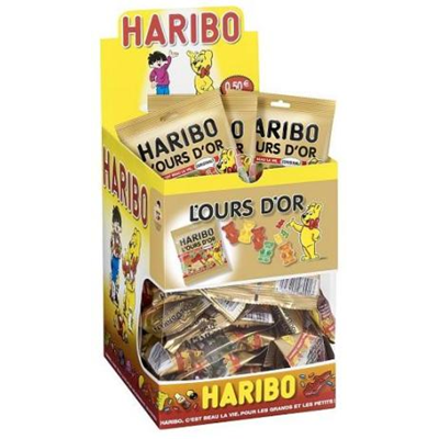 Bonbons l ours or 30 x 40 g