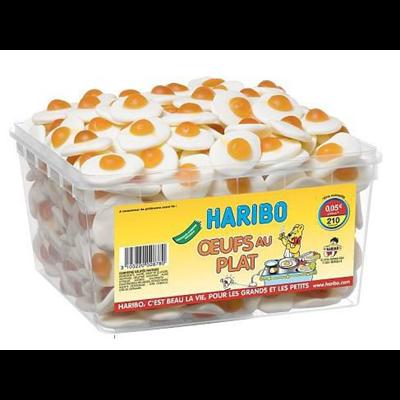 Bonbons oeufs au plat 210 pieces haribo 1