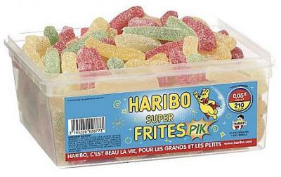 Bonbons super frites 210 pieces haribo bonbons super frites 210 pieces haribo