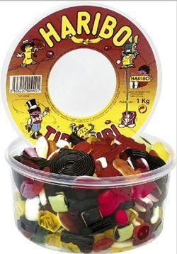 Bonbons tirlibibi 1 kg haribo pour bureau