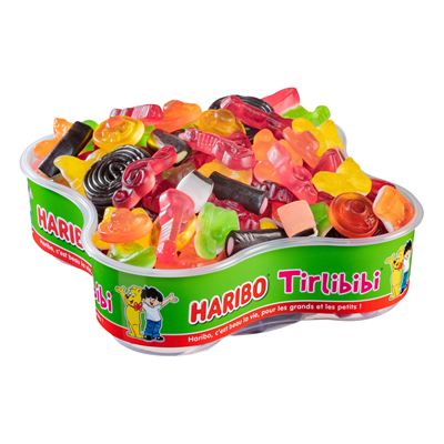 Bonbons tirlibibi assortiment 1 kg haribo