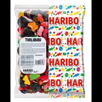 Bonbons tirlibibi sac 2 kg haribo