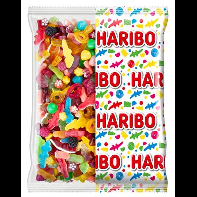 Bonbons world mix sachet de 2 kg haribo