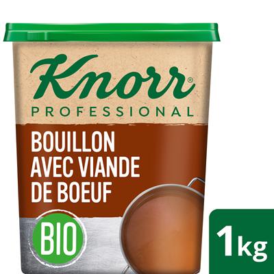 Bouillon bio avec viande de boeuf 1 kg knorr