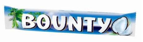 Bounty 24 x 57 g pour bureau