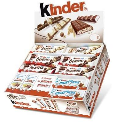 Box 48 pieces kinder pour professionnels