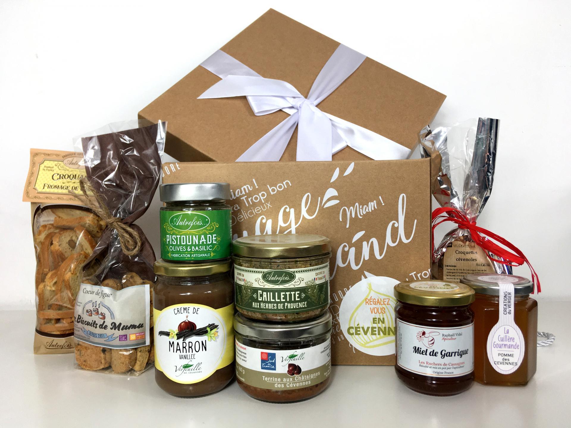 Box des cevennes boite cadeau produits du terroir des cevennes 1