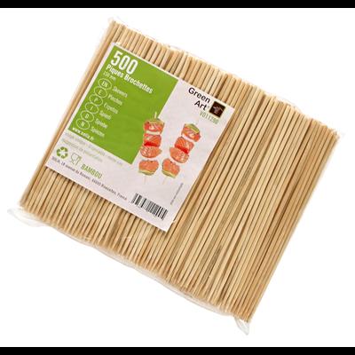 Brochette solia bambou 15 cm vendu par 500 1