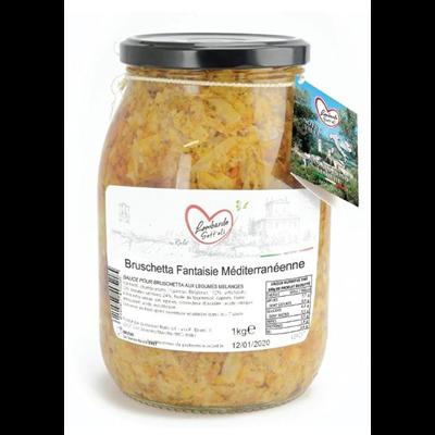 Bruschetta mix legumes bocal 1062 ml