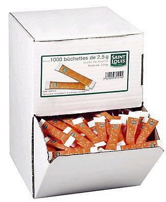 Buchettes de sucres st louis 1000 x 2 5 g pour professionnels et collectivites