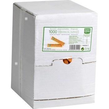 Buchettes sucre en poudre 1000x2 5 g
