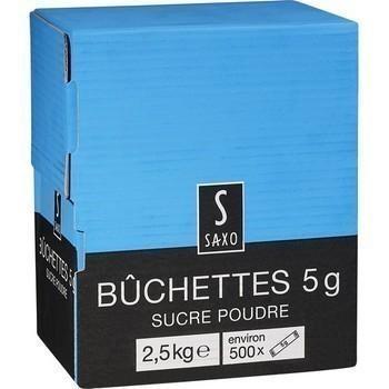Buchettes sucre poudre 2 5 kg les 500