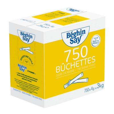 Buchettes sucre poudre 5 g beghin say