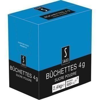 Buchettes sucre poudre 600x4 g