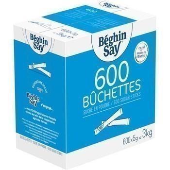Buchettes sucre poudre 600x5 g