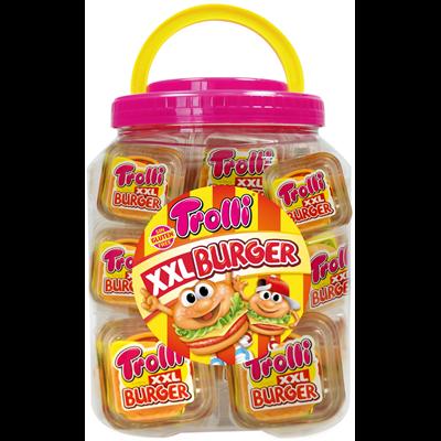 Burger xxl 50 g tubo 20 pieces trolli