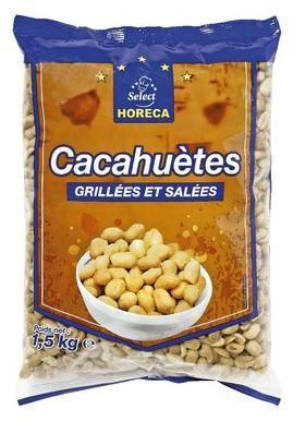 Cacahuete 1 5 kg demi box horeca select pour bureau