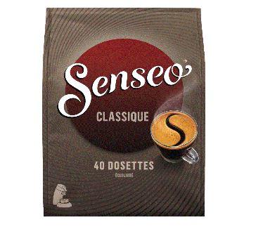 Cafe classique en dosette x 40 senseo