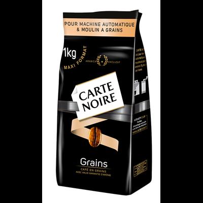 Cafe classique en grains 1 kg carte noire