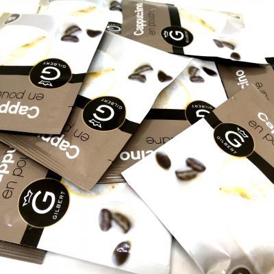 Cafe dosette cappuccino 12 g gilbert le lot de 10