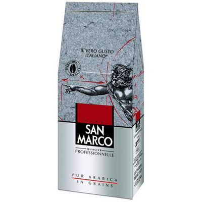 Cafe en grains 1 kg san marco