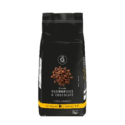 Cafe en grains 100 arabica intensite 7 1 kg gilbert