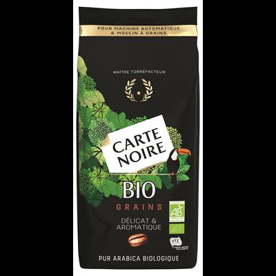 Cafe en grains bio 100 arabica sachet 1 kg carte noire