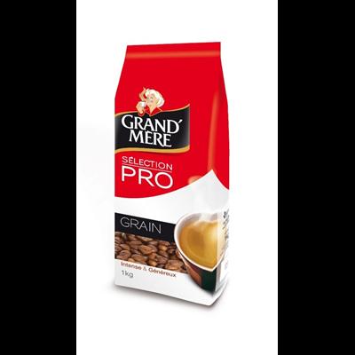 Cafe en grains familial 1 kg grand mere