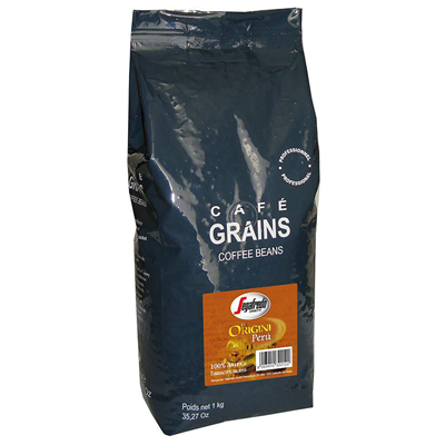 Cafe en grains le origini peru 1 kg segafredo