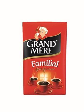 Cafe moulu familial 12 x 250 g grand mere cafe pour bureau